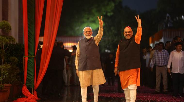 Election results, Modi, BJP, amit shah, lok sabha election results full list, bjp cabinet meet, election commission final results lok sabha elections, 2019 lok sabha election results, india election results bjp winner