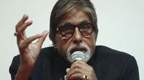 """Bachchan was speaking as a panelist at a discussion on the topic of 'Destination Branding Strategy Using Celebrity Endorsement"""". (IE Photo: Javed Raja)"""