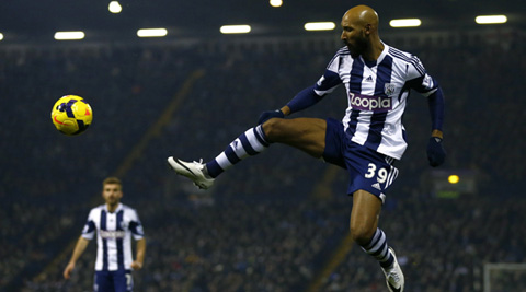 """Nicolas Anelka has apologised for the """"inverted Nazi salute"""" (Reuters)"""