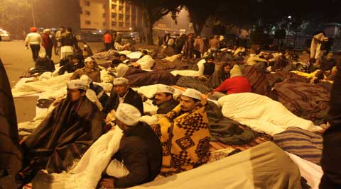 BJP called Arvind Kejriwal's tactic to protest as diversionary and said the Delhi CM is clueless about governance (Express photo by Praveen Jain)