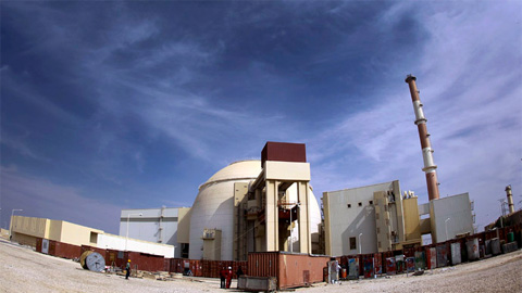 A general view of the Bushehr nuclear power plant, some 1,200 km (746 miles) south of Tehran   (Reuters)