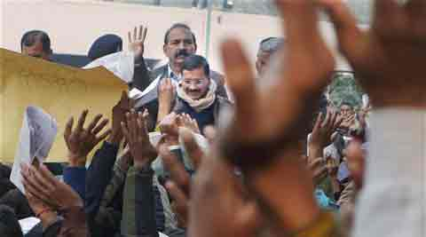 Kejriwal admitted that despite using technology, citizens would still want to meet him.