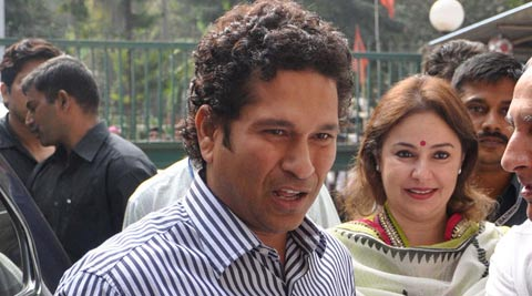 """The prestige of Maharashtra and India has increased due to Sachin's contribution to the game,"" the government had said."