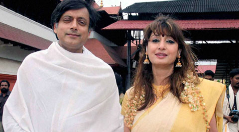 """Shashi Tharoor has demanded a """"clear and definitive conclusion"""" to the issue relating to his wife Sunanda Pushkar's death. (Source: PTI)"""
