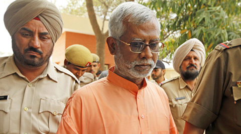 Aseemanand was arrested by NIA on December 26, 2012 in connection with the Samjhauta Express blast case.