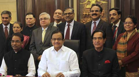 """Chidambaram said UPA government's record on economic growth front is """"unparalleled"""". (PTI Photo)"""