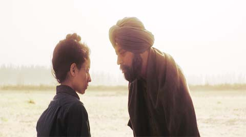 Irrfan and Tillotama Shome in a scene from Qissa movie.
