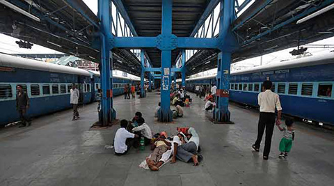 Soon passengers will be greeted with a slew of measures for improving the service of Indian Railways. (AP)