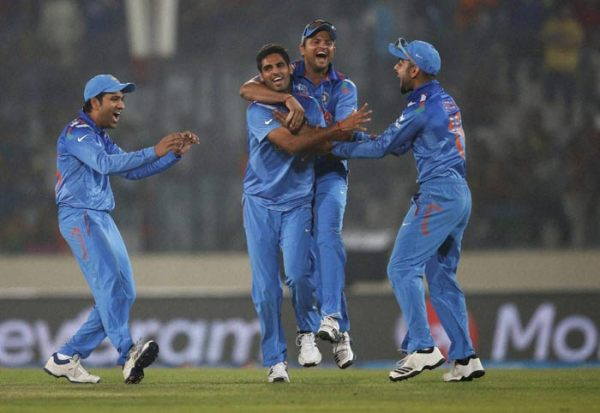 India put up a thoroughly professional performance to thrash arch-rivals Pakistan by seven wickets in a one-sided opening group league encounter to launch their ICC World Twenty20 campaign in style (AP)