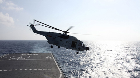 The Indian warships and planes were expected to join the effort late Thursday night in the 35,000 square km area identified by the Malaysian authorities for search operations. (Reuters)