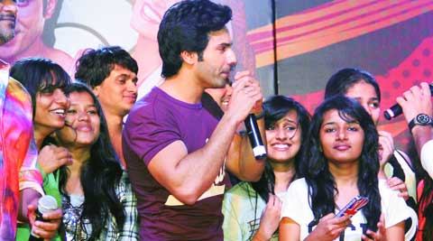Varun Dhawan and his female fans