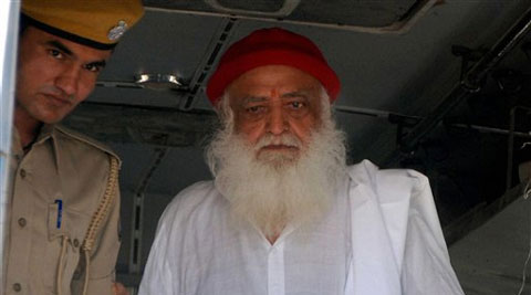"""Asaram's counsel U U Lalit contested the trial court's reliance on the girl's matriculation certificate and treat her as a """"child"""" under the Prevention of Children from Sexual Offences Act."""
