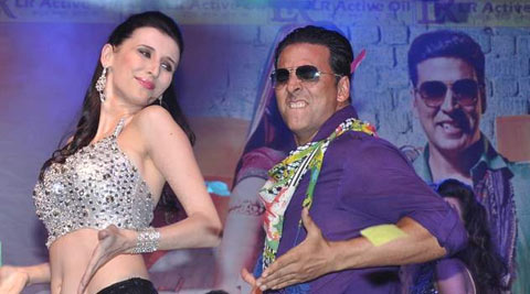 """""""After 'Balma' (Khiladi 786), I got many offers but rejected them because I was not happy with the content. But this is a very catchy item number with 'desi tadka'. It's a typical song in UP and Bihar style. There is some naughtiness in it,"""" Claudia told PTI."""