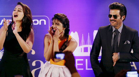 This is going to be blockbuster weekend, said Priyanka.
