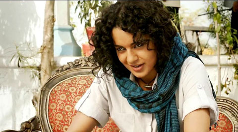 Revolver Rani movie review: This Rani, who hefts revolvers and shoots to kill, is neither wholly a cartoon figure, nor completely credible.
