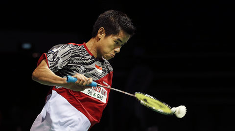 Simon Santoso is ranked 58th in the world (AP)