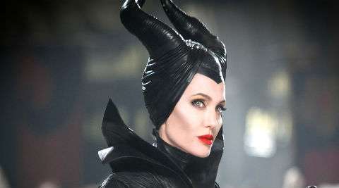 Angelina Jolie says playing Maleficent has taught her a lot about 'being a woman'.