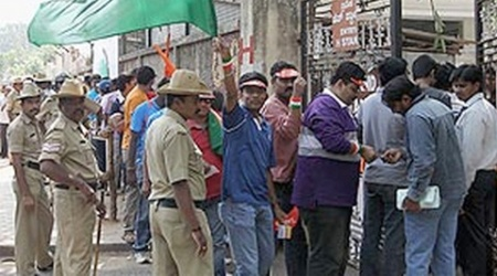 Police have tightened security at M Chinnaswamy Stadium for the IPL cricket matches.