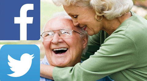 Social networking can do wonders to the health of elderly.