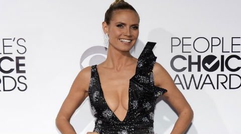 Heidi Klum has worked with the American Red Cross for the past decade. (Source: Reuters)