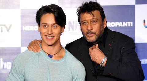 Jackie Shroff will be up against his own son and debutant Tiger Shroff next week.