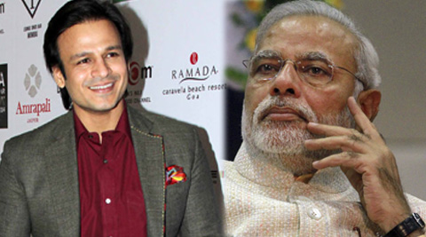 "Vivek Oberoi tweeted, ""I feel honoured & privileged to be invited to witness history in the making!"""
