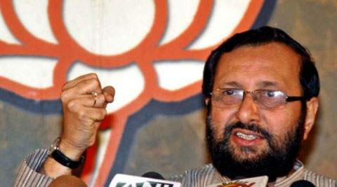 "Javadekar suggested that the approach of his predecessors in the ministry had caused a ""loss of face"" to the nation as it was seen as ""speedbraker"" to development and foreign investors had started leaving the country. (Source: PTI)"