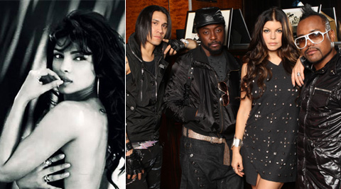 "Black Eyed Peas tweeted, ""Our girl Priyanka Chopra's new video for ""I Can't Make You Love Me"" debuted today. Watch it now!"""