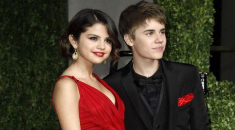 Justin Bieber's management wants Selena Gomez to be around him, so that he is brought back on track. (Source: AP)