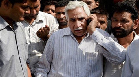 Ravindra Singh, father of MBA student Ranbir Singh who was killed in a fake encounter in Dehradun in July 2009. (Source: PTI)