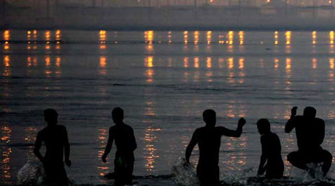 The human bodies in the Ganga are biodegradable. Industrial and agricultural chemicals are not.
