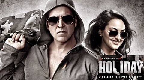 Akshay can still deliver a perfect roundhouse kick but he has been looking his age for a while now. He's slim and fit and agile, and sports a sharp Army-style buzz cut, but he makes everything familiar.