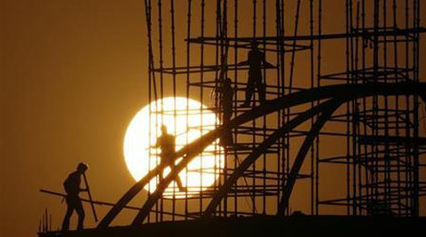 Annual growth in output from mines, utilities and factories is forecast to accelerate to 5.4 per cent in June. (Reuters)