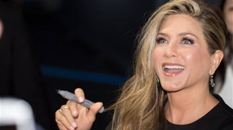Jennifer Aniston has apparently vowed to avenge the prank. (Source: AP)