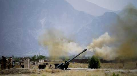 The Pakistani army said it has launched a 'comprehensive operation' against foreign and local militants in a tribal region near the Afghan border. (source: AP)