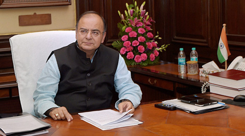 FM Arun Jaitley in his Budget speech announced that the FDI cap in insurance sector would be increased to 49 per cent. (PTI)