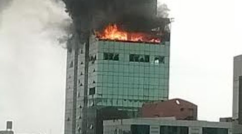 The probe team said the owner or developer of the building had violated several conditions of Mumbai Fire Brigade's no-objection certificate.