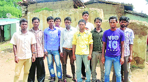 Some of those who were made to surrender in Gutia-Jamgai village