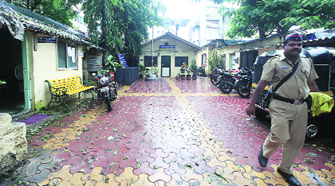 Families of the four have filed missing persons complaints with the police station in Kalyan (above).Source: Prashant Nadkar
