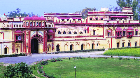 Ameeta and Sanjay Sinh have not visited the Bhupati Bhawan Palace in Amethi ever since Garima entered there on June 25. Source: Express Photo
