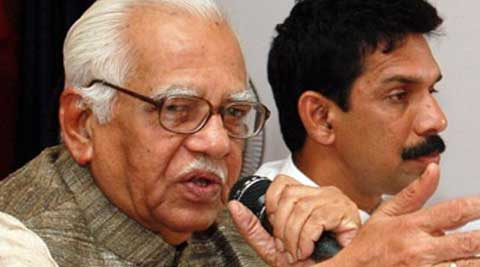 BJP spokesman Vijay Bahadur Pathak said that the MPs would submit a memorandum to Governor Ram Naik later in the day. (Source: PTI)