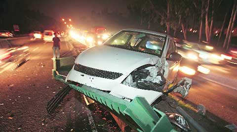 Another crash between Housing Board and Transport Point in Chandigarh. (Source: File photo)