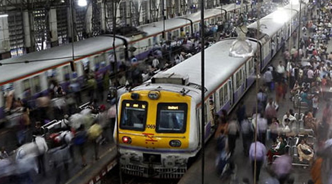 Presently the section from Thane to CST is powered by DC while the section beyond Thane towards the North is powered by AC. (Source: AP photo)