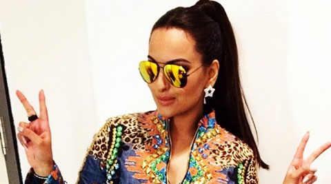 Fashion designers Riddhi and Siddhi Mapxencar's outfit for Sonakshi Sinha's recent live performance at London's O2 arena drew appreciation both from the actress and the audience. (Source: Instagram by Sonakshi Sinha)