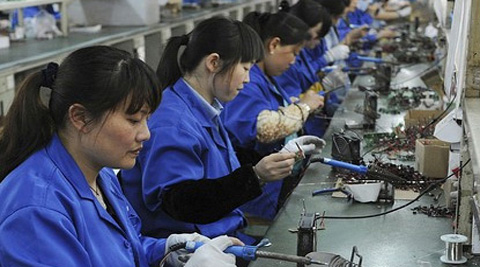 Under the new campaign China will use tax breaks to encourage enterprises to upgrade their equipment and increase R&D efforts to improve the manufacturing industry.