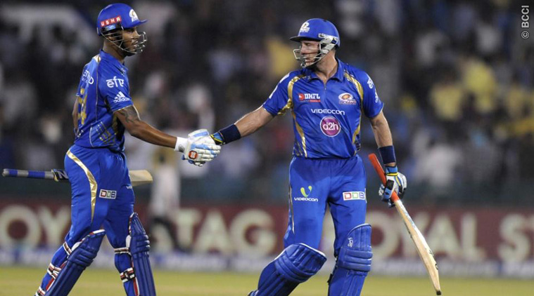Hussey and Simmons notched up fifties and ensured an easy win for Mumbai (Source: BCCI)