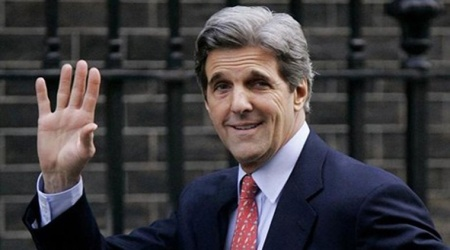Jen Psaki said Kerry will meet with Iraqi govt officials to welcome them on the successful formation of a new govt.