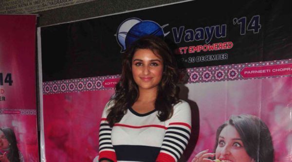 Parineeti is currently busy promoting her forthcoming film 'Daawat-e-Ishq'.