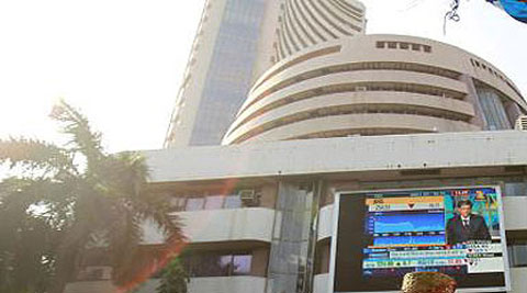 As many as 23 stocks closed with losses led by Axis Bank, SBI, Hindalco, BHEL, RIL, ICICI Bank and ONGC. However, TCS, Dr Reddys and GAIL closed higher among seven Sensex gainers.