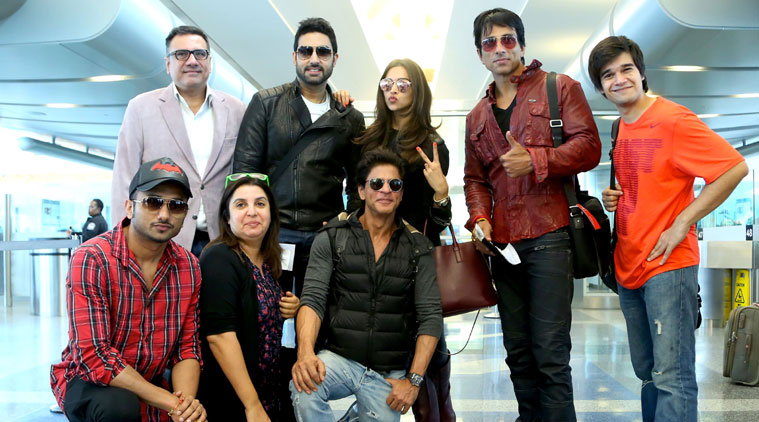 While the artists created frenzy as soon as they landed in Houston, a lot of fans have come to watch SLAM The Tour from India, Australia, Brazil, Middle East and from different American states.